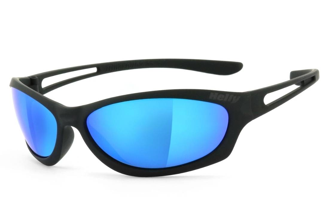 Helly Bikereyes Flyer Bar 3 Sunglasses Blue One Size