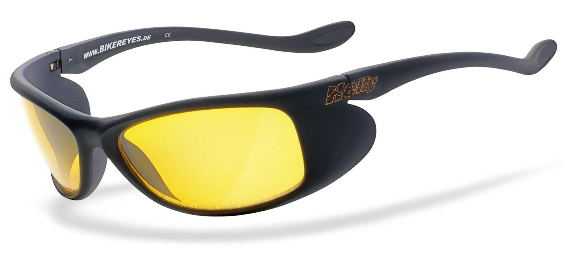 Helly Bikereyes Top Speed 4 Sunglasses Yellow One Size