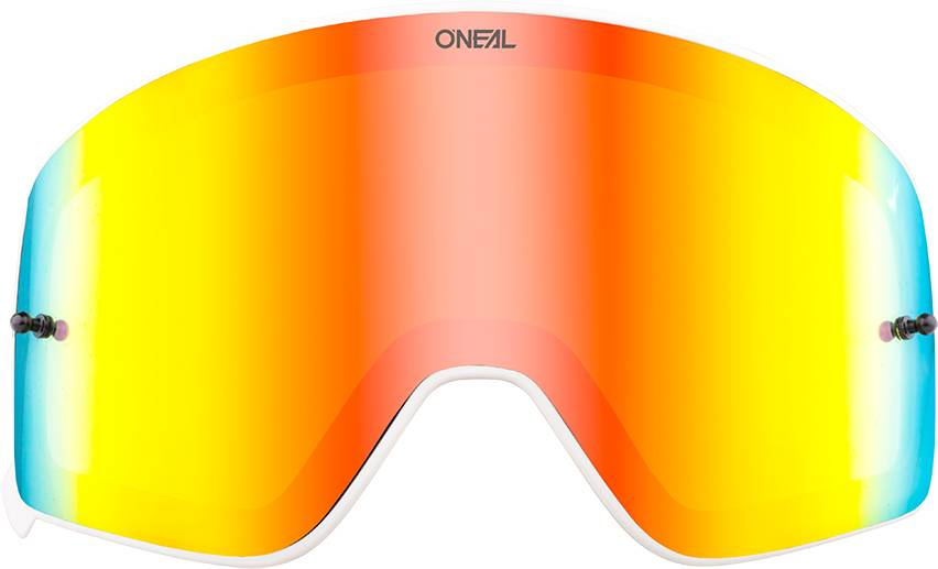 Oneal B-50 White Visor Red One Size
