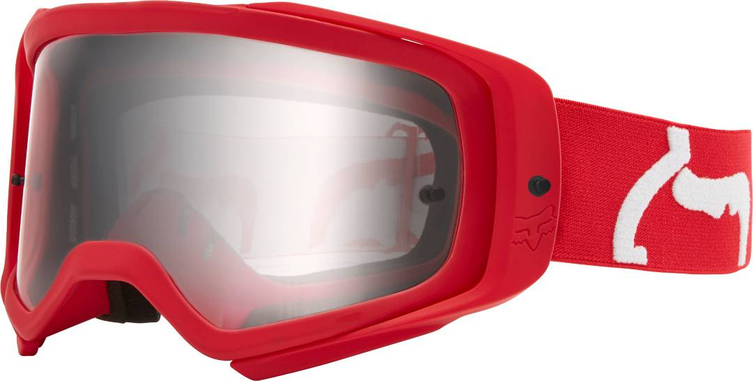 FOX Airspace II Prix Motocross Goggles Red One Size