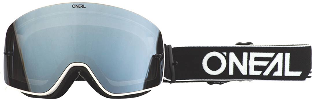 Oneal B-50 Force Motocross Goggles Black White One Size