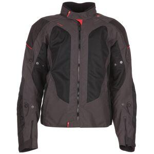 Modeka Upswing Textile Jacket Black Grey S