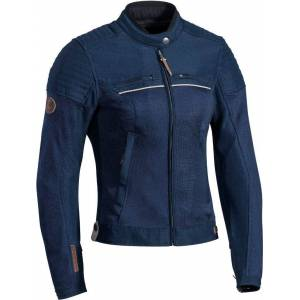 Ixon Filter Ladies Motorcycle Textile Jacket Blue L