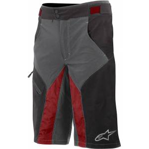 Alpinestars Outrider Bicycle Shorts Black Red 28