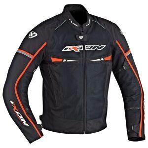 Ixon Pitrace Textile Jacket Black White Orange 3XL