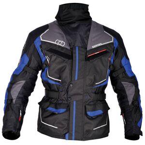 Oxford Oslo Long Motorcycle Textile Jacket Grey Blue S