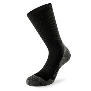 Lenz Trekking 4.0 Socks Black 45 46 47