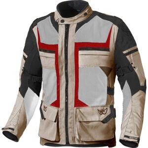 Berik Tour-X Waterproof Motorcycle Textile Jacket Red Beige 48