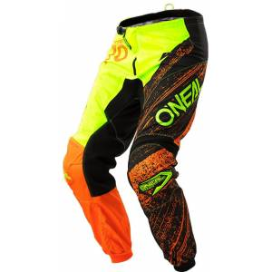 Oneal O´Neal Element Burnout Pant Black Orange 36