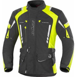 Büse Torino Pro Motorcycle Textile Jacket Black Yellow L