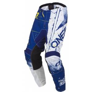 Oneal Element Shred Motocross Pants Blue 42