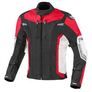 Berik Challenger Motorcycle Textile Jacket Black White Red 50