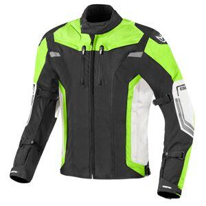 Berik Challenger Motorcycle Textile Jacket Black White Yellow 52