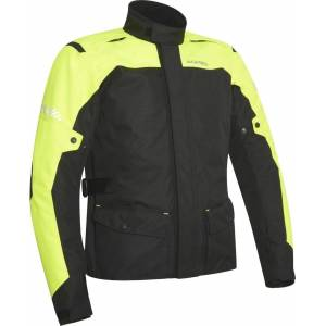 Acerbis Discovery Forest Motorcycle Jacket Black Yellow 3XL