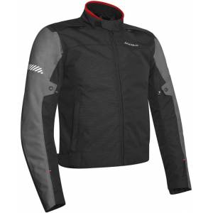 Acerbis Discovery Ghibly Motorcycle Jacket Black Grey 3XL