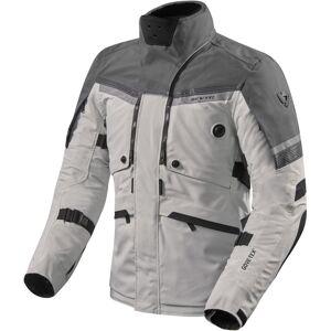 Revit Poseidon 2 Gore-Tex Motorcycle Textile Jacket Black Grey Silver 2XL