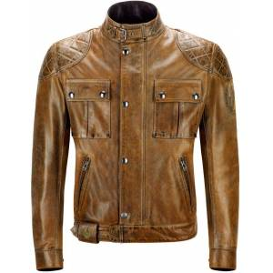 Belstaff Brooklands Motorcycle Leather Jacket  - Size: Small