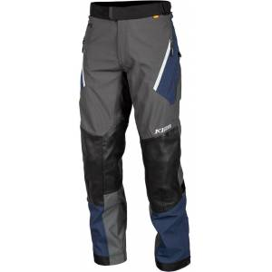 Klim Kodiak Navy Motorcycle Textile Pants  - Size: 56