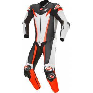 Alpinestars GP Tech v3 Tech-Air One Piece Perforated Motorcycle Leather Suit  - Size: 54