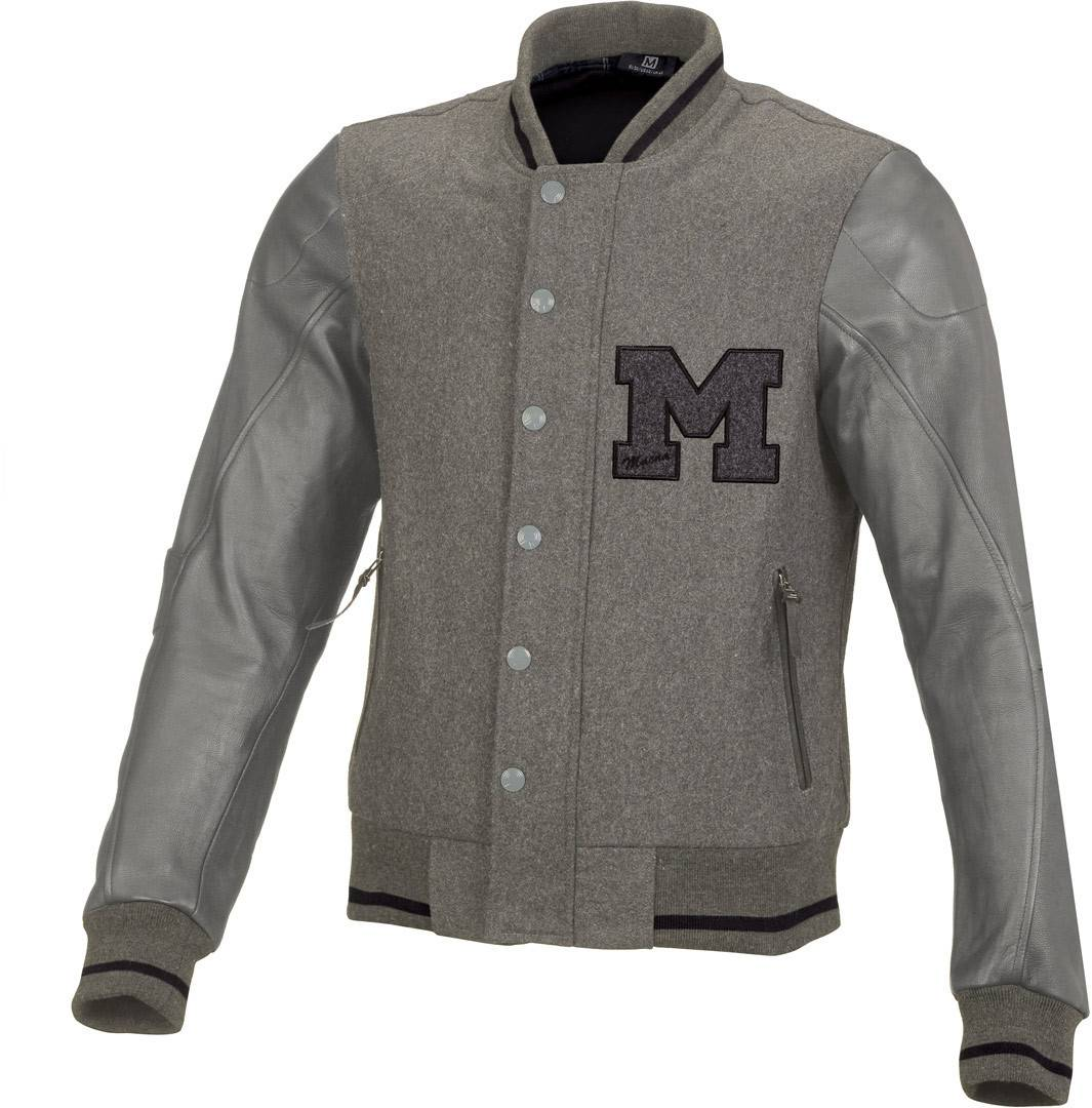 Macna College Textile Jacket Grey S
