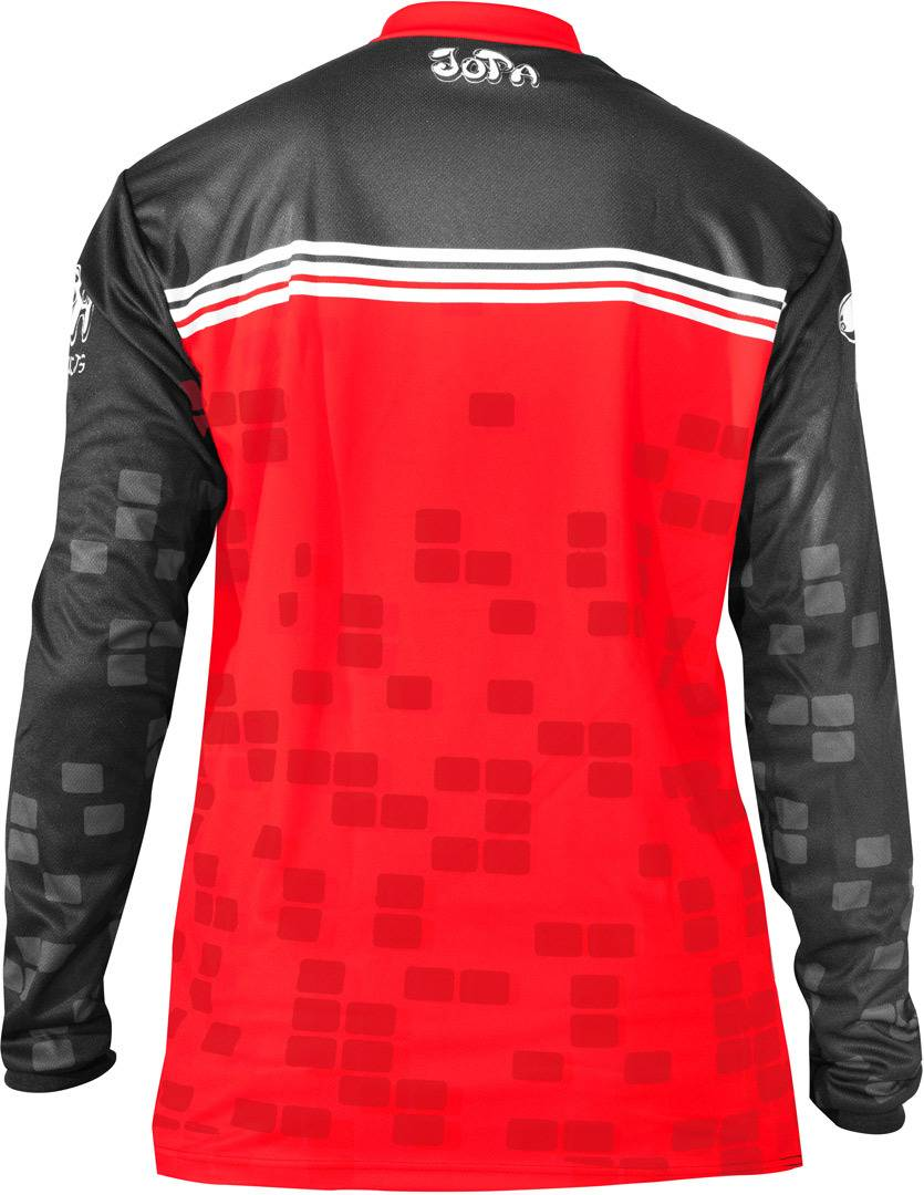Jopa Infinity MX/BMX Jersey Black Red S