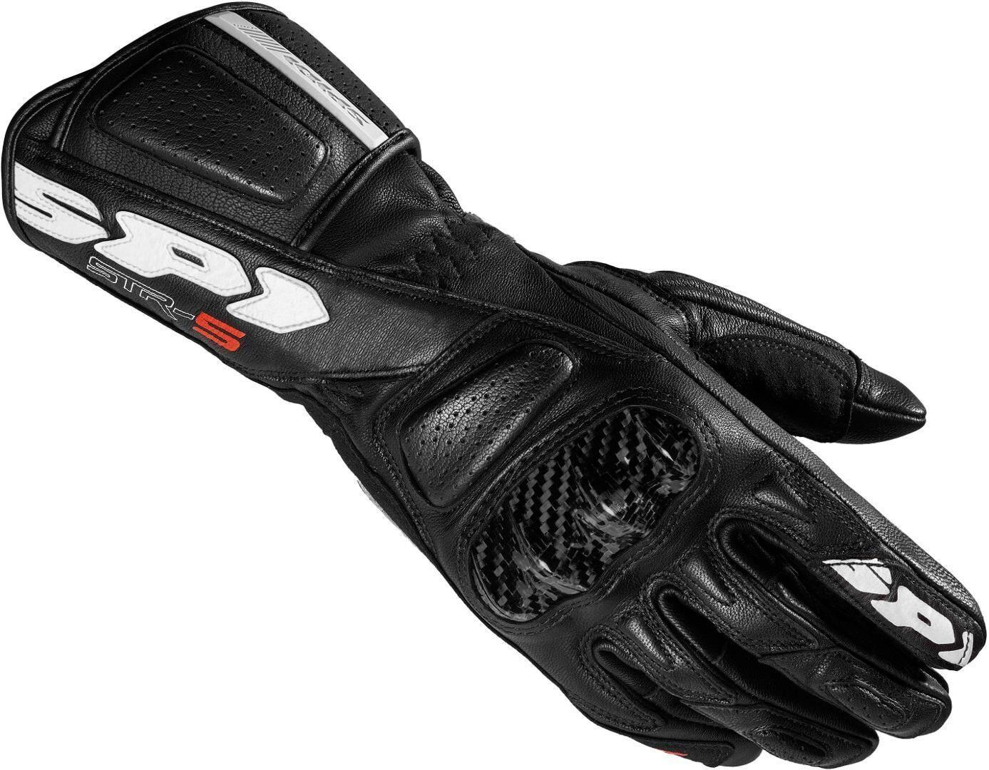 Spidi STR-5 Ladies Motorcycle Gloves Black XS