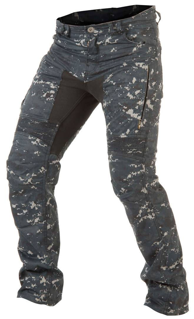 Trilobite 661 Parado Blue Digi Camo Motorcycle Jeans Multicolored 44
