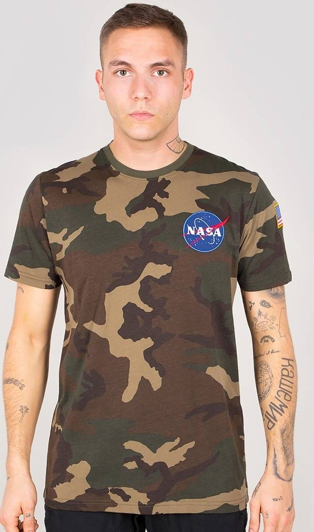 Alpha Industries Space Shuttle T-Shirt Multicolored XL
