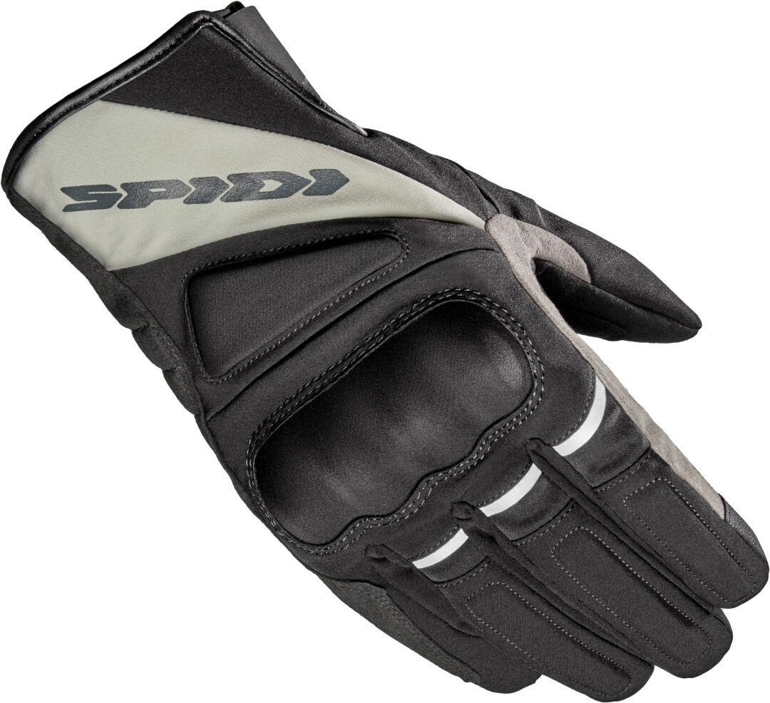 Spidi Mistral H2Out Motorcycle Gloves Black Grey L