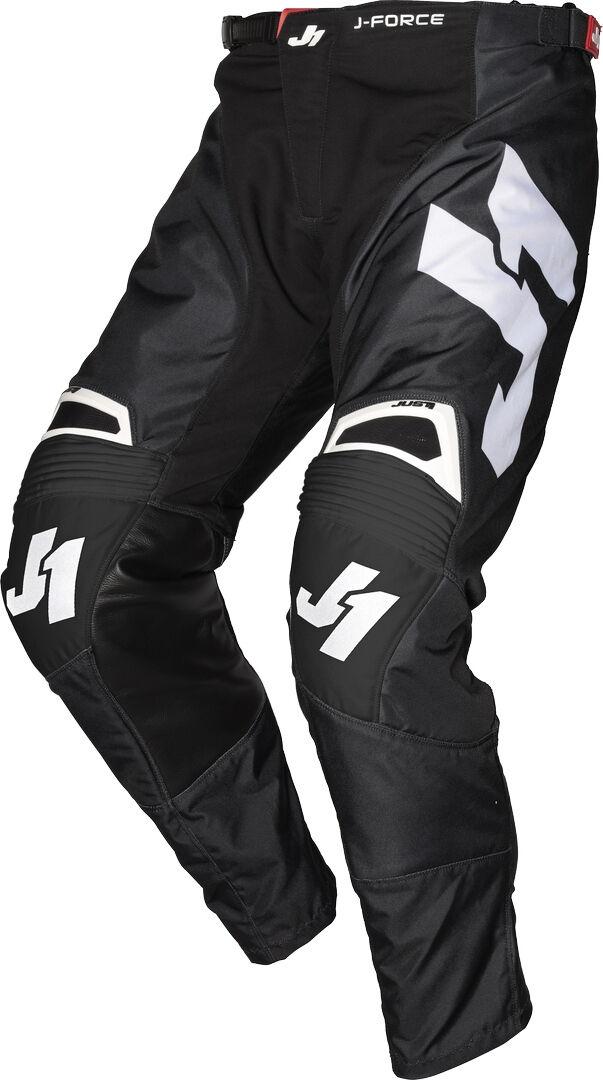 Just1 J-Force Terra Motocross Pants Black White 50