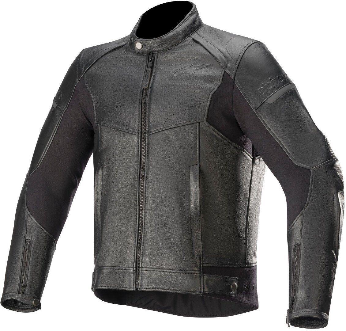 Alpinestars SP-55 Motorcycle Leather Jacket Black 52