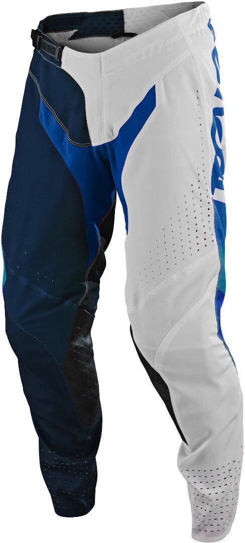 Lee Troy Lee Designs SE Pro Tilt Motocross Pants White Blue 34
