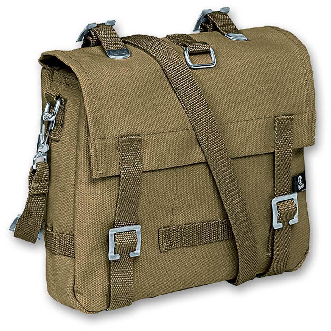 Brandit Canvas S Bag Green One Size