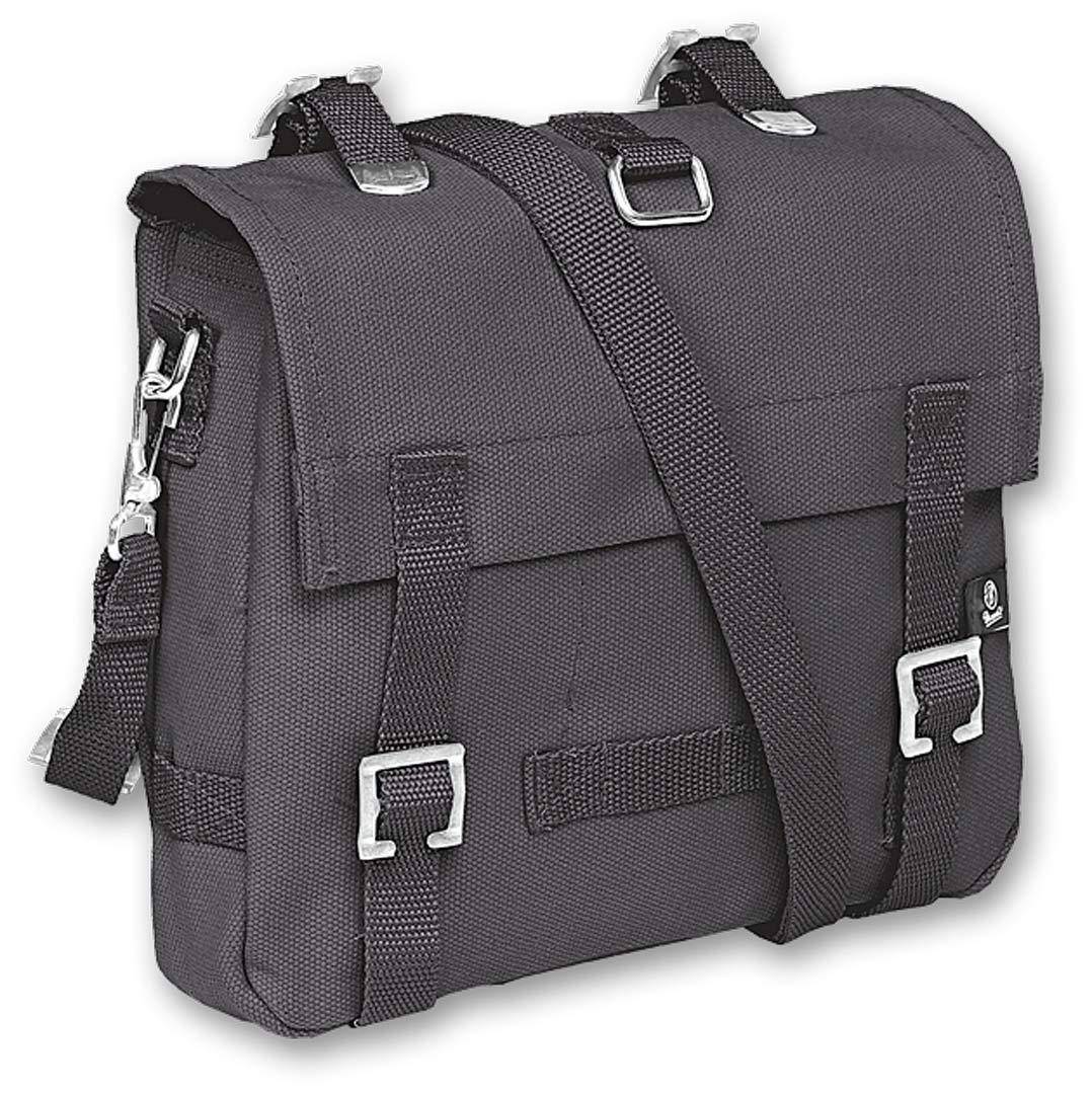 Brandit Canvas S Bag Black Grey One Size