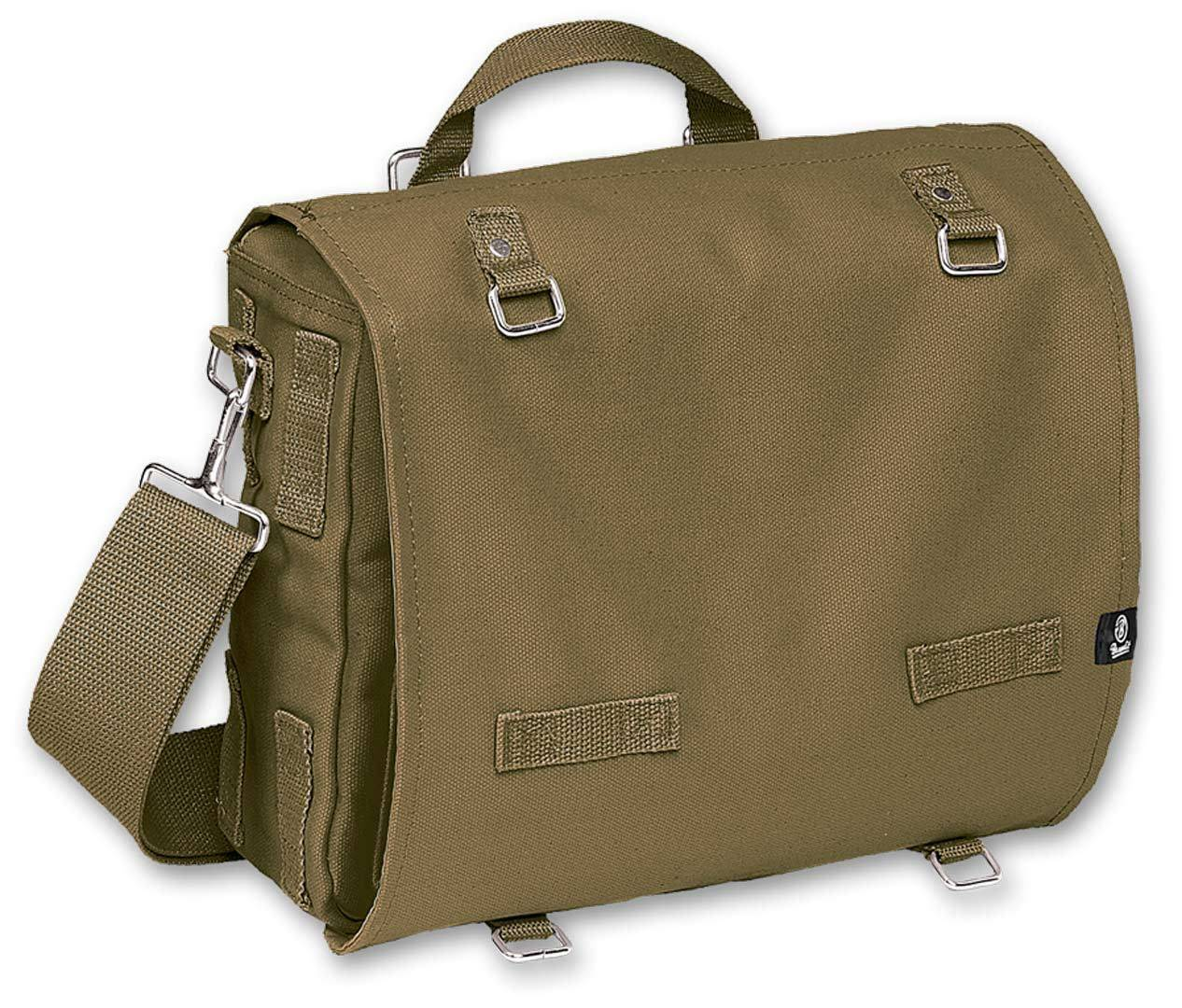 Brandit Canvas L Bag Green One Size
