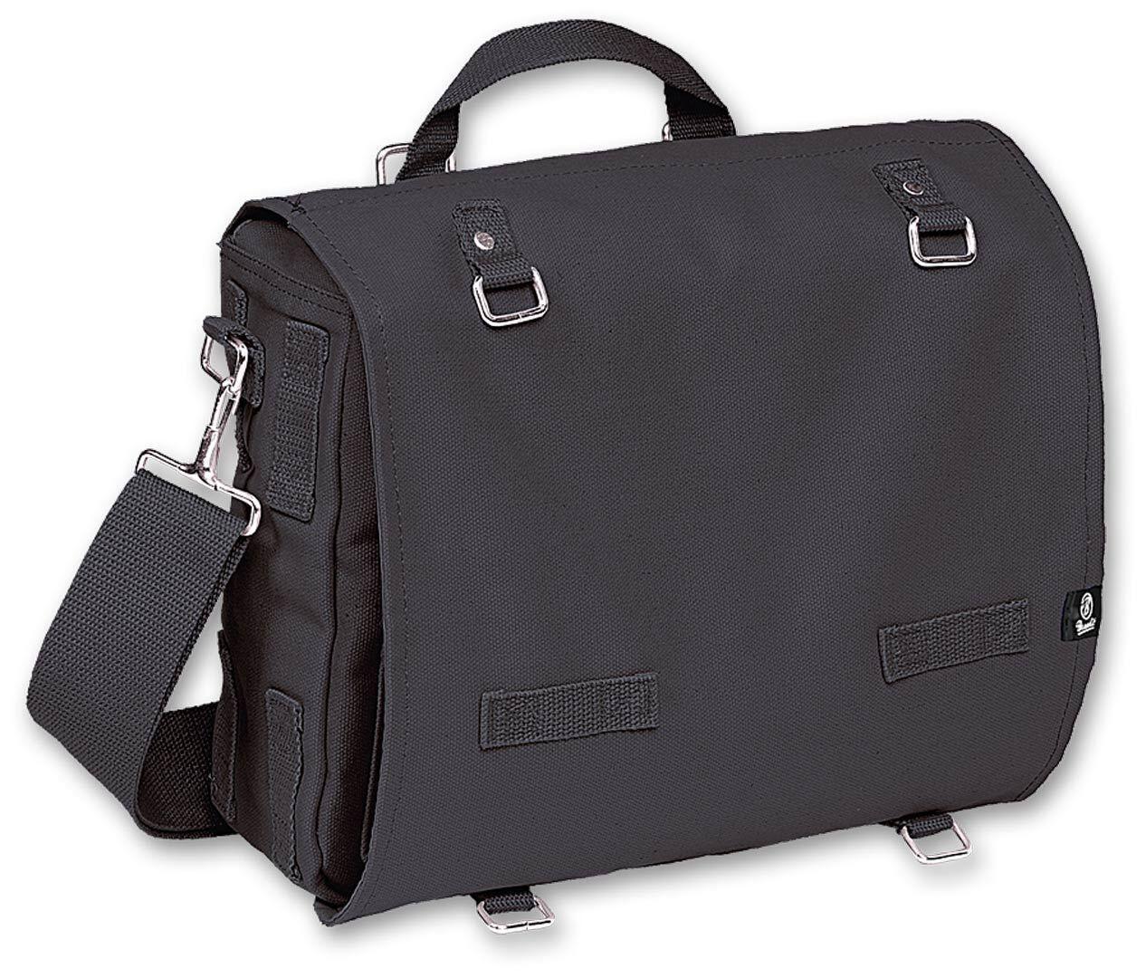 Brandit Canvas L Bag Black One Size