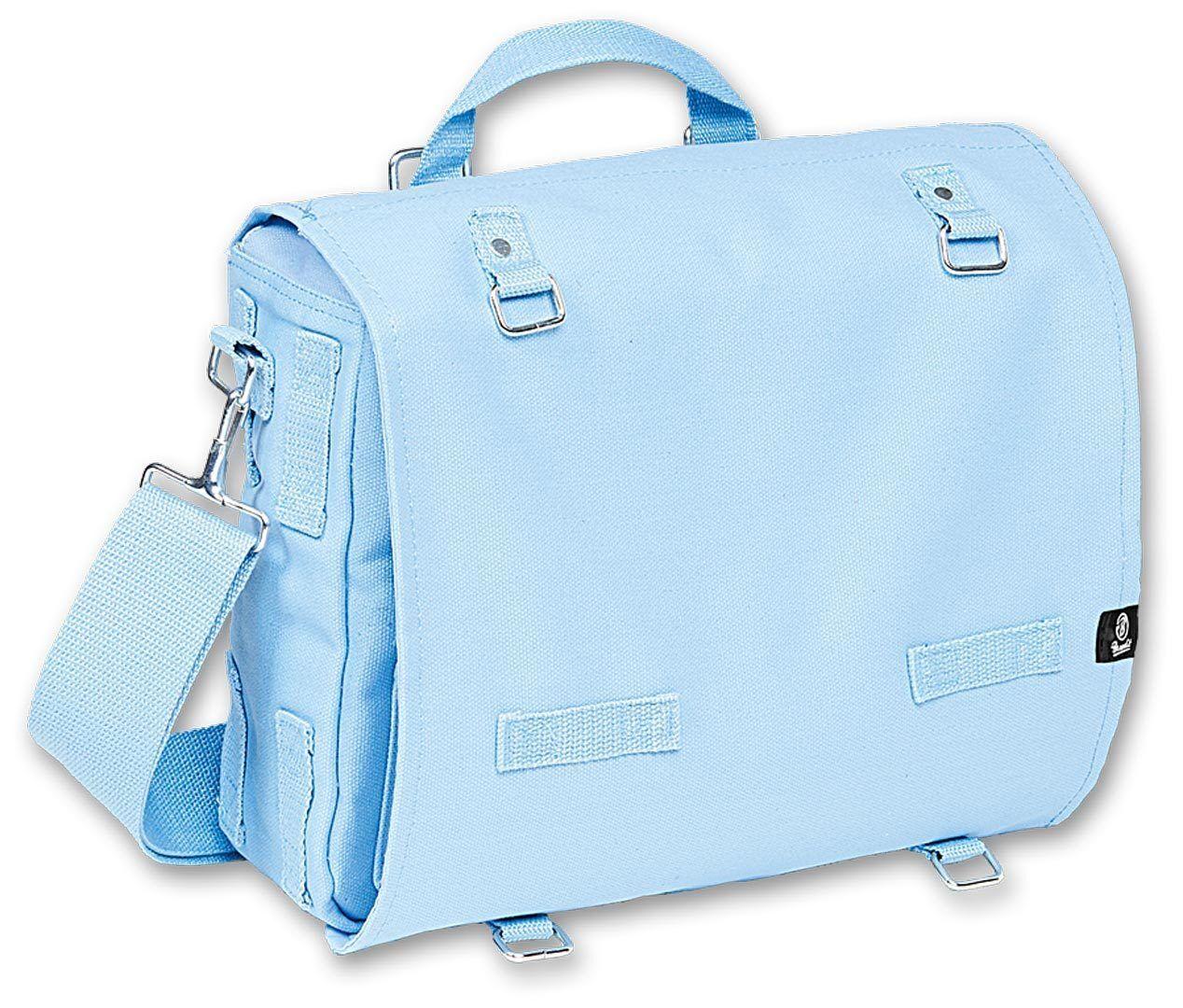 Brandit Canvas L Bag Turquoise Blue One Size