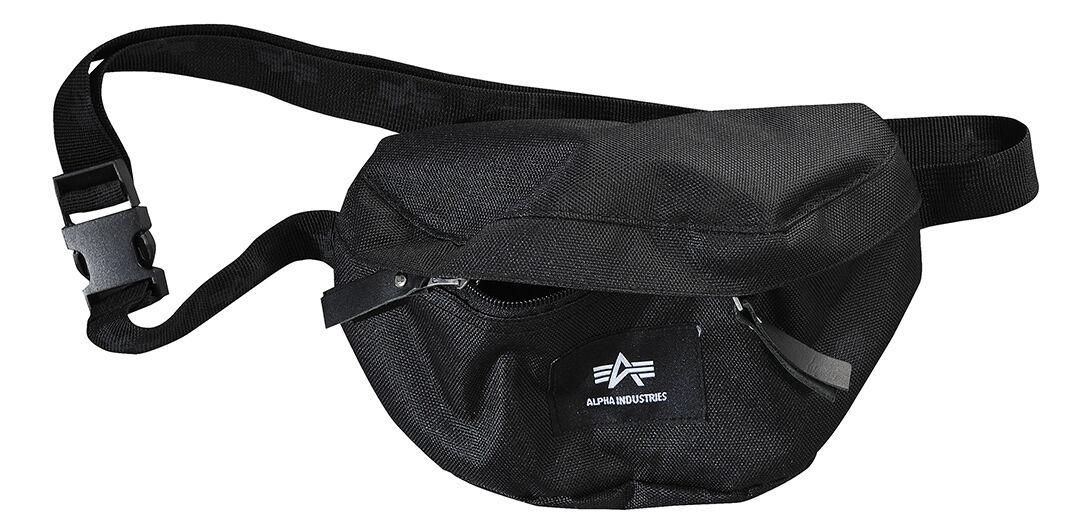 Alpha Industries Big A Oxford Waist Bag Black One Size