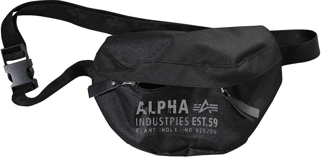 Alpha Industries Cargo Oxford Waist Bag Black One Size