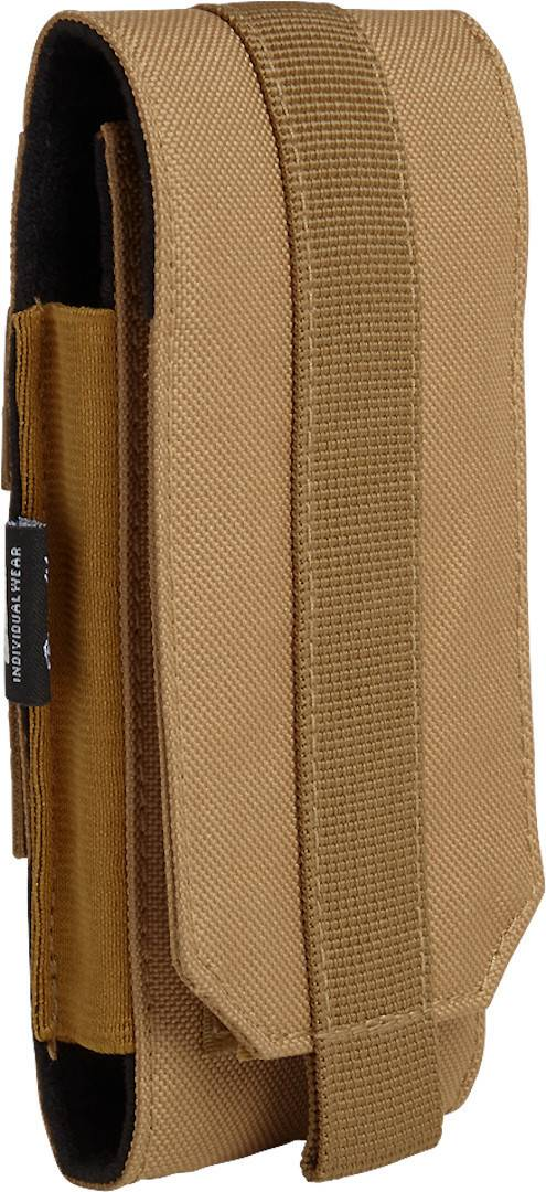 Brandit Large Molle Phone Pouch Brown One Size