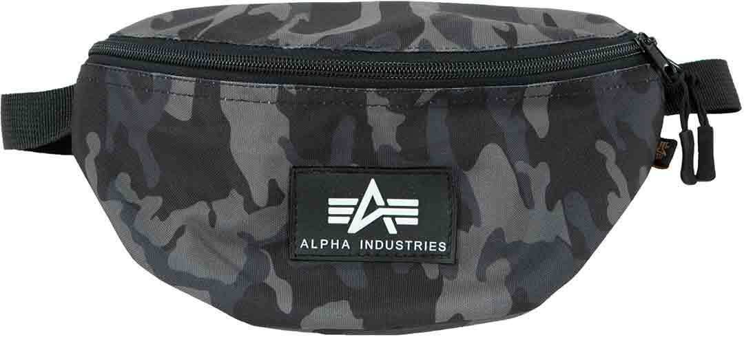 Alpha Industries Rubber Print Waist Bag  - Size: One Size