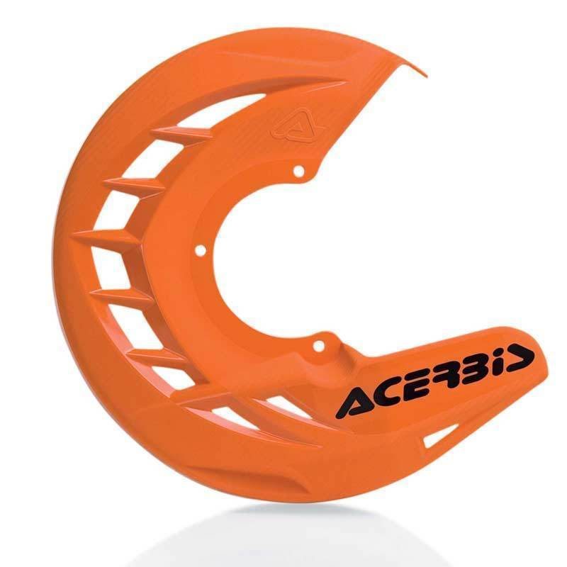 Acerbis X-Brake Front Disc Cover Orange