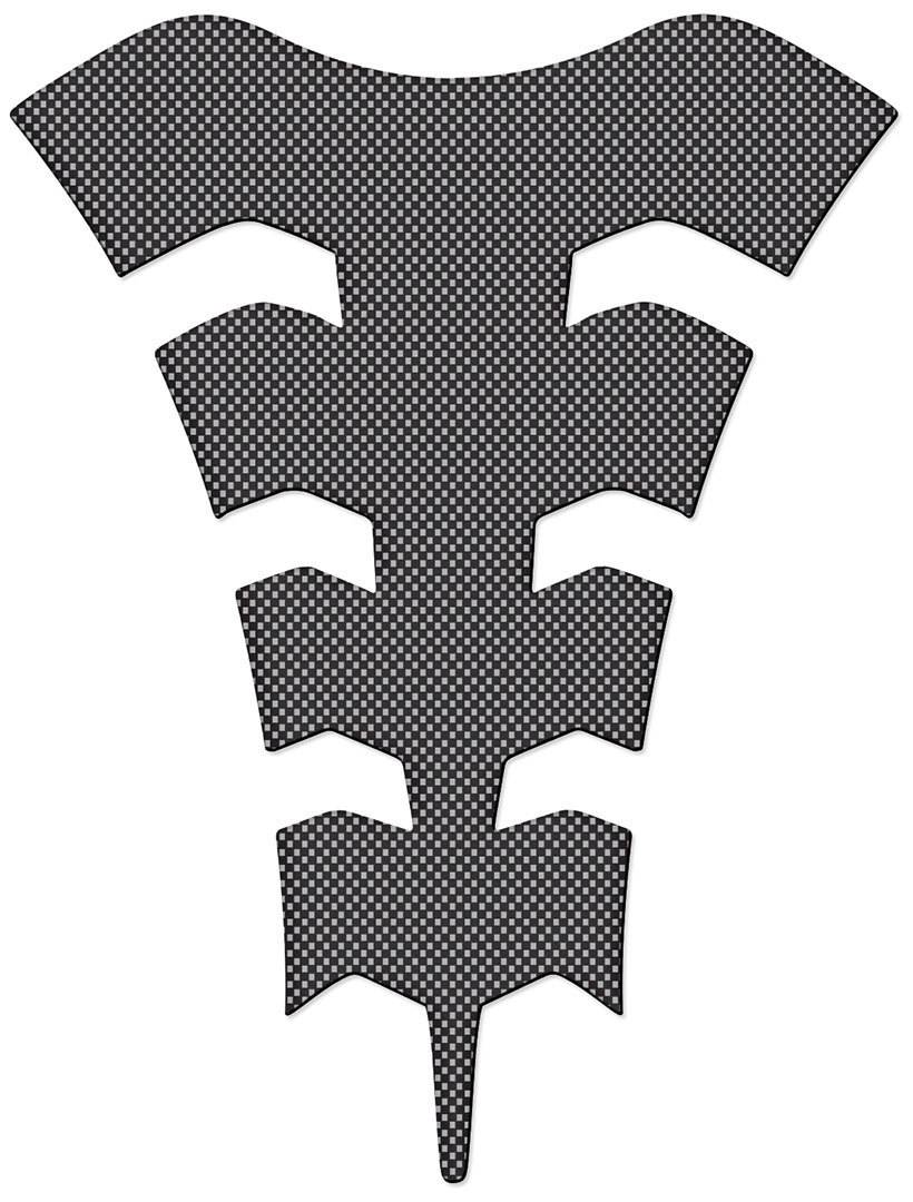 Oxford Spider Super Thin Tank Pad Carbon One Size
