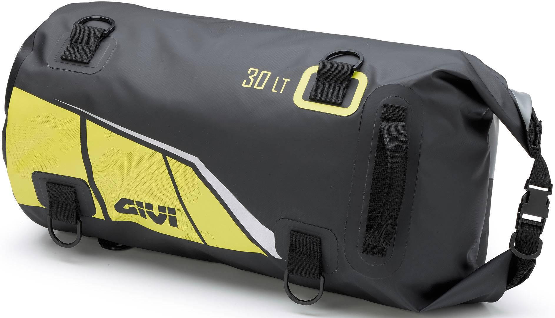 GIVI Easy-T Luggage Roll Black Yellow 21-30l