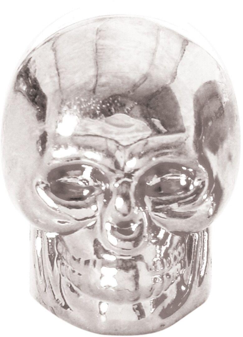 Oxford Skull Valve Caps Silver One Size