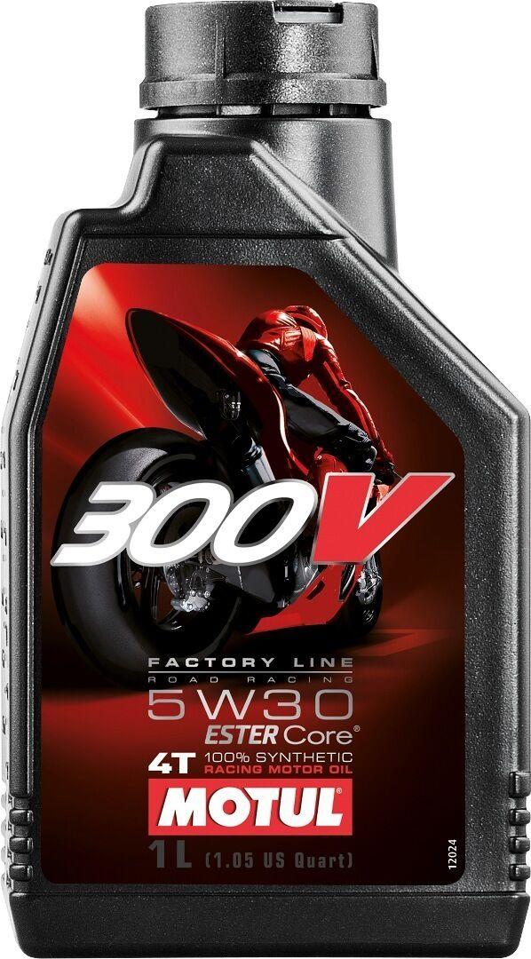 MOTUL 300V 4T Factory Line Road Racing 5W30 Motor Oil 1 Liter