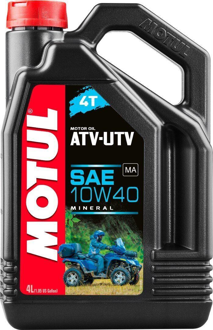 MOTUL ATV-UTV 4T 10W40 Motor Oil 4 Liter