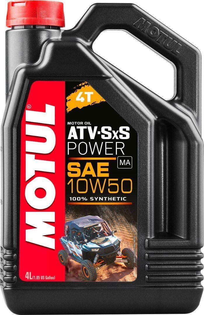 MOTUL ATV-SXS Power 4T 10W50 Motor Oil 4 Liter