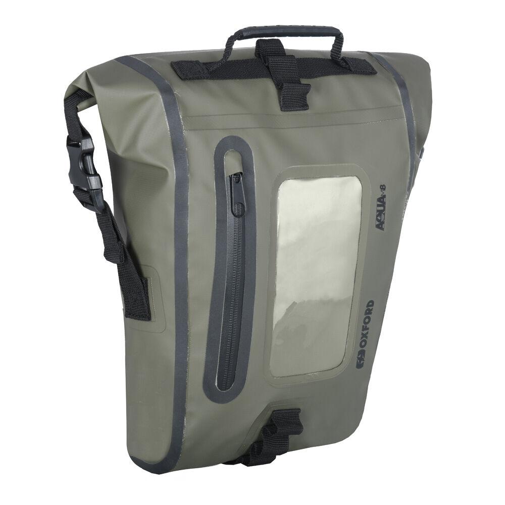 Oxford Aqua M8 Tank Bag  - Size: One Size