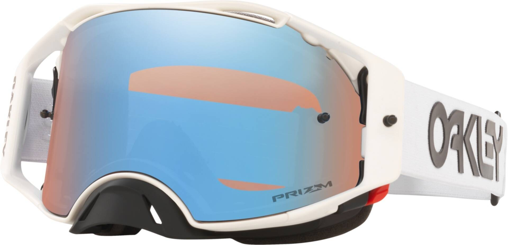 Oakley Airbrake Factory Pilot Prizm Motocross Goggles  - Size: One Size